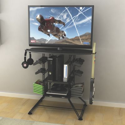 Centipede Game Storage & TV Stand