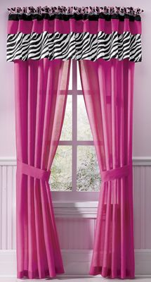 Jungle Queen Window Treatments
