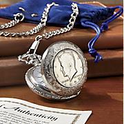 Jfk Half Dollar Pocket Watch X