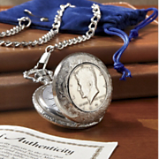 Jfk Half Dollar Pocket Watch X