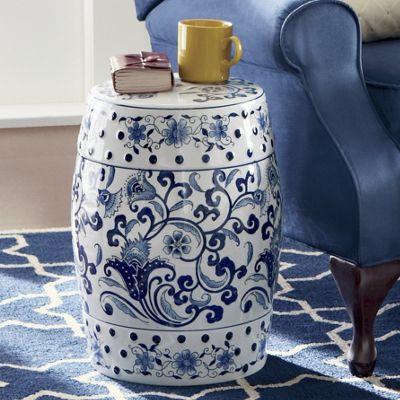 Joris Ceramic Stool From Montgomery Ward S9701400