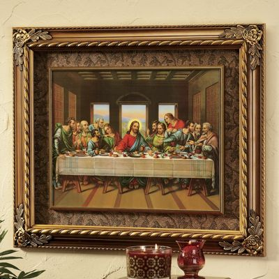 Last Supper Print From Through The Country Door 701488