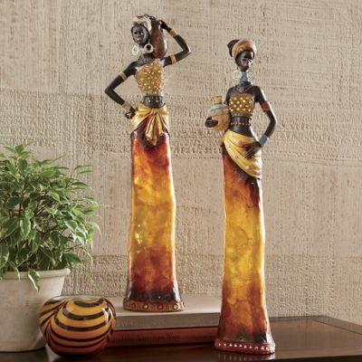 African Women Figurines