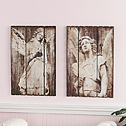 Set Of 2 Angel Wall Art