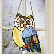 Owl Stained Glass...