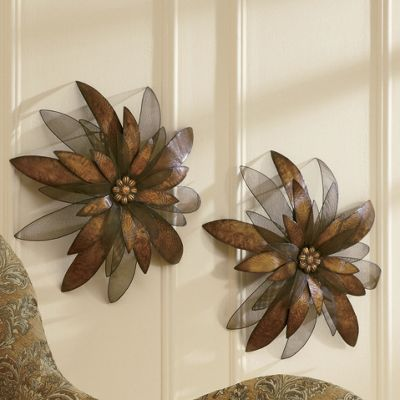 Wall Flower Sculpture