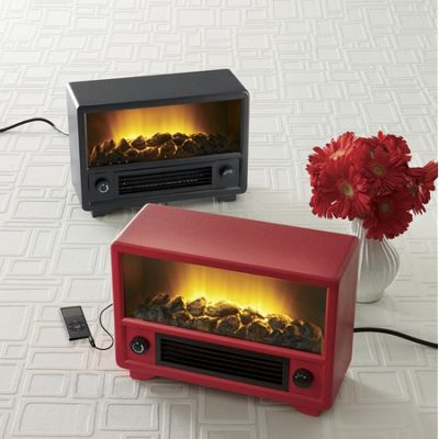 Retro Fireplace/Media Player