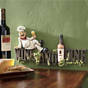Adorno para pared Wine and Dine