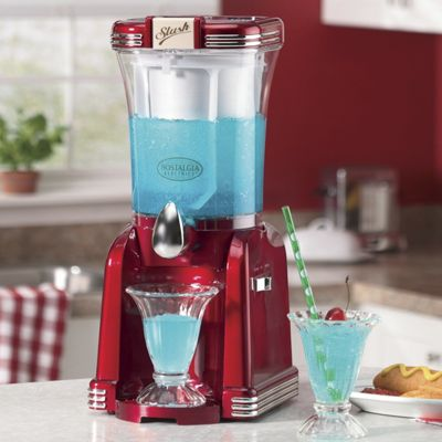 Retro Slushie Drink Maker by Nostalgia Electrics
