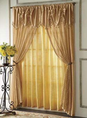Valencia Panel With Attached Valance