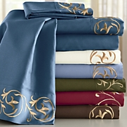 Embroidered Microfiber Sheets 1