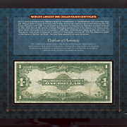 Worlds Largest Silver Certificate