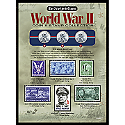 New York Times WWII Coin & Stamp Collection