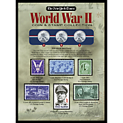 Ny Times Wwii Coin and Stamp Collection