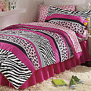 Jungle Queen Bedding and Window Treatments