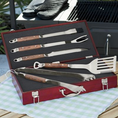 5-Piece Personalized Grill Set with Case