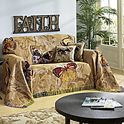 butterfly throw and pillow