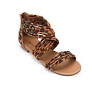 Seventh Avenue Leopard Ankle Wrap Sandal