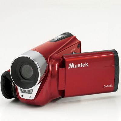 Digital Video Camera With Heavy-Duty Tripod by Mustek