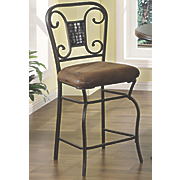 Scrolled Counter Height Chair