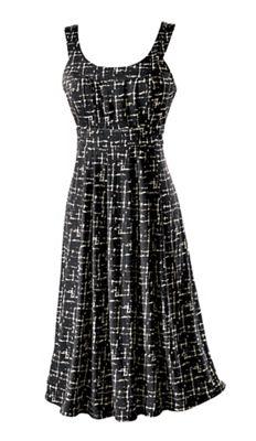 Elissa Yoke Neck Dress
