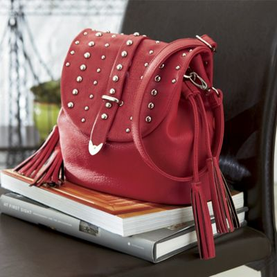 Tassle Stud Side Bag