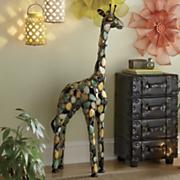 multicolor floor giraffe