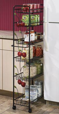 Apple Slim Storage Cart