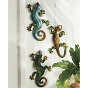 3 piece gecko set