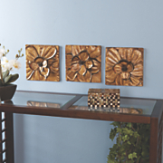 Magnolia 3-Piece Wall Set
