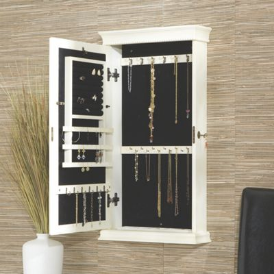 Imperial Wall Mount Jewelry Armoire
