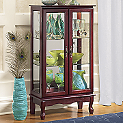 2 door lighted cabinet 13