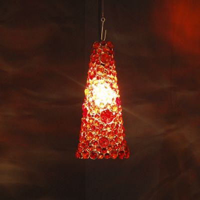 Jeweled Hanging Lamp