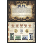 Civil War Coin & Stamp Collection