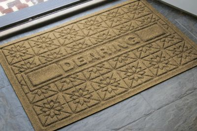 Personalized Star Mat