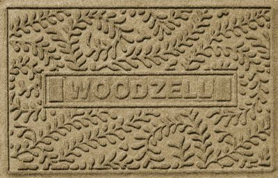 Personalized Boxwood Mat