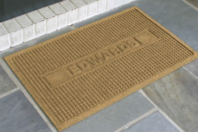 Personalized Squares Mat