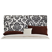 Patterned Cotton Upholstered Headboard