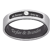 forever love titanium message band