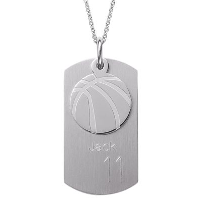 Personalized Sports Dog Tag