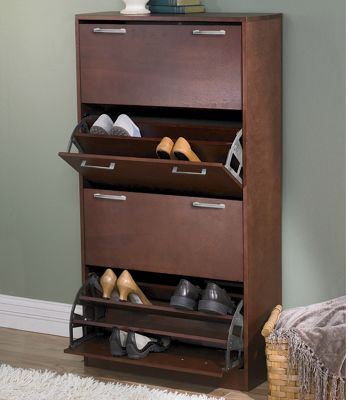 4 Door Shoe Closet From Midnight Velvet 703253