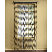 Pellet-String Curtain