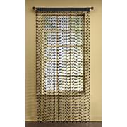 Pellet-String Curtain