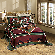 Mesa Tapestry Coverlet, Sham and Pillow
