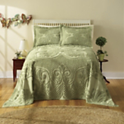 heather chenille bedding