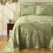 heather chenille bedding and sham