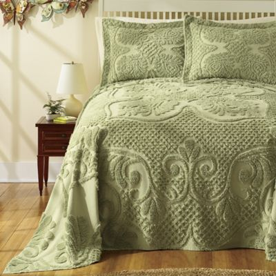 Heather Chenille Bedding and Sham