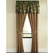 cheetah window treatments