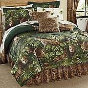 Cheetah Complete Bedding Set, Pillow and Window Treatments
