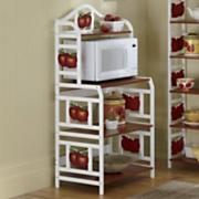 Apple Microwave Cart